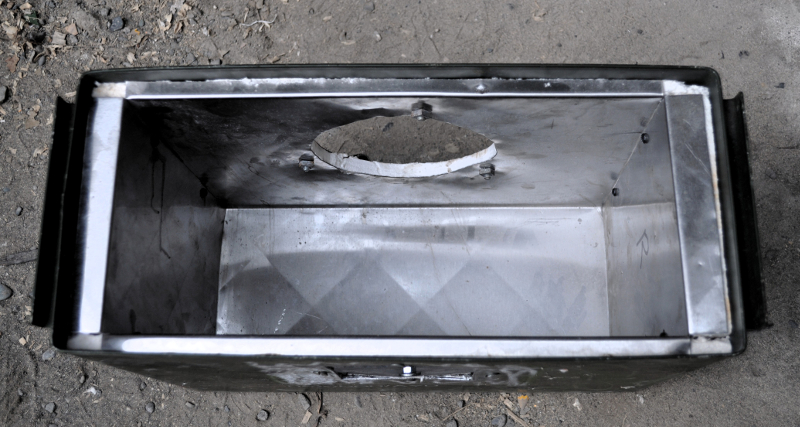 Ammo Box Stovetop Oven Improved Biomass Cooking Stoves