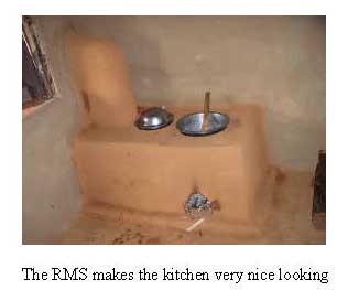 Rocket Mud Stove