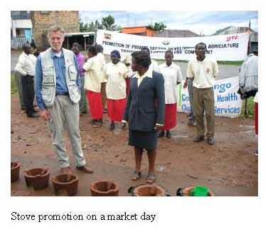 Stove Promotion on Market Day