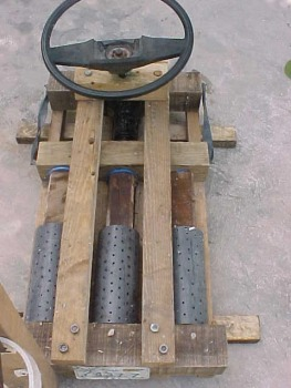 Hydraulic Press 3 Cylinder Steering Wheel