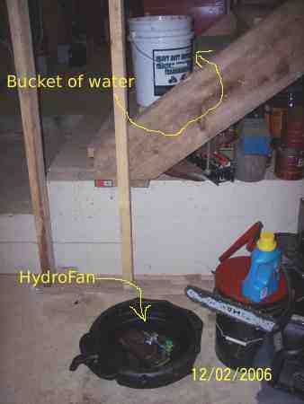 Bucket and Hydrofan