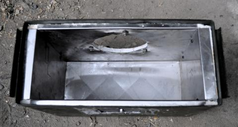 ammo box stovetop oven outer with insulation and stainless lining