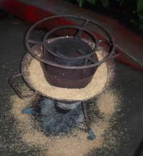 Mayon Turbo Rice Husk Stove