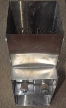 toaster slot briquette stove liner with door flaps