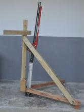 tractor jack briquette press
