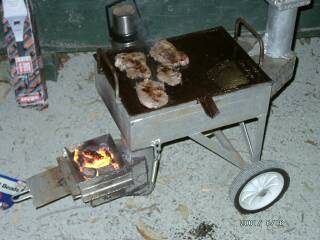 Downdraft Barbeque Improved Biomass Cooking Stoves