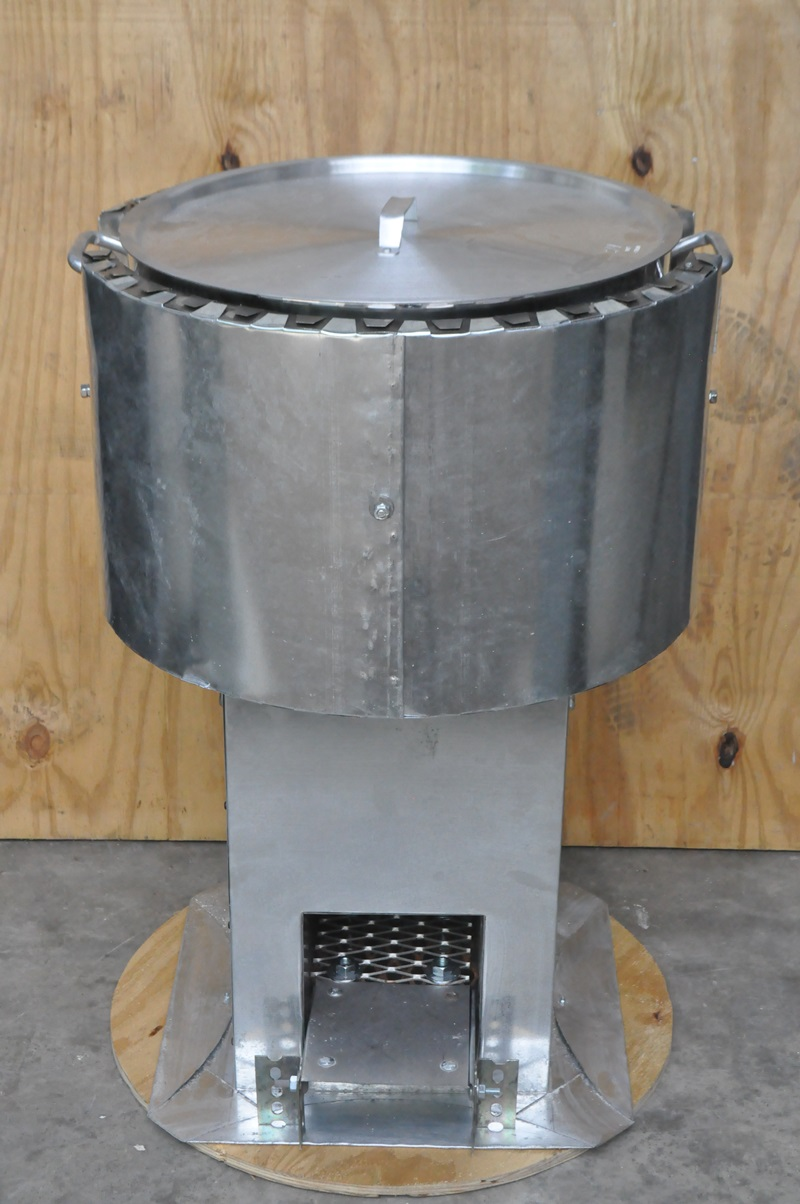 Ifb Stainless Liner School Rocket Stove Improved Biomass