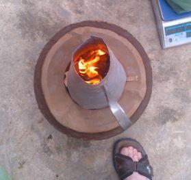 Lighting Cone on the Anglo Supra Nova