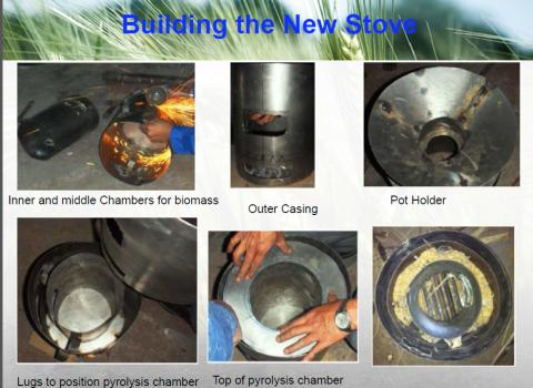 building the stoves