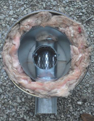 wocket stove galvanized interior