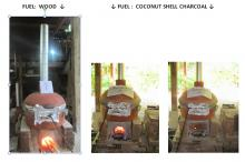 In operation with Wood Fuel and Charcoal