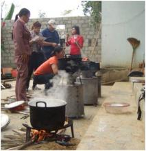 testing the stoves
