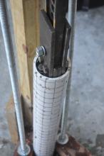 pressing cylinder